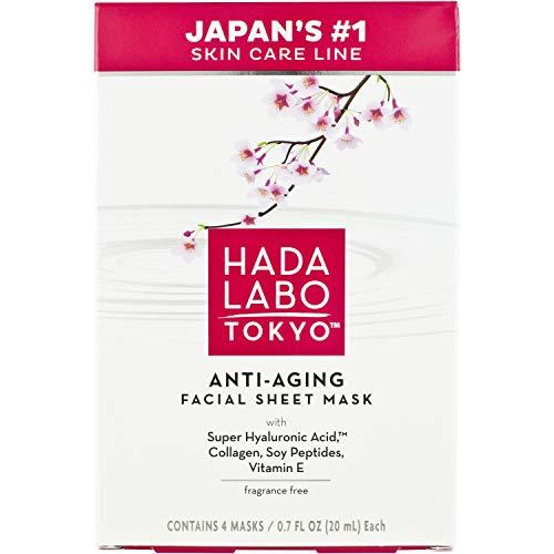 Hada Labo Tokyo Ultimate Anti-aging Facial Mask - 0.7 Oz