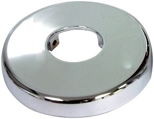 Lincoln 102509 Shower Arm Flange with Set Screw - Chrome Plated - Chrome Pipe Covers