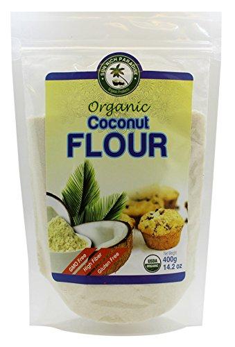 Sun Rich Paradise Non GMO, High Fiber, Gluten-Free Organic Coconut Flour, 14.2 - Cake Coconut Flour Chocolate