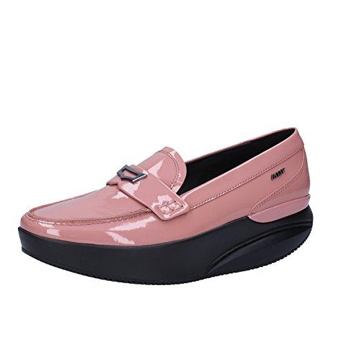 MBT Pink 37 Mokassins Lack EU Damen MBT Mokassins Mokassins EU Pink 37 Damen Damen Lack MBT xXAII6