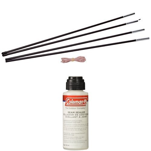 Coleman Replacement Tent Pole Kit with Seam Sealer, 2-oz