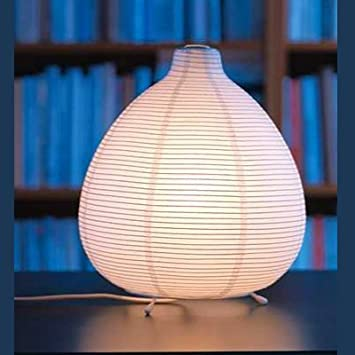 Rice Paper Table Lamp: Ikea 201.620.01 Vate Table Lamp Soft Mood Asian Rice Paper,Lighting