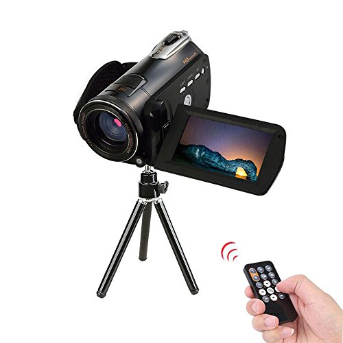 Night Vision Camcorder 24MP Infrared Camcorder 1080P Full HD Video Camcorder 18X Digital Zoom with Wifi 3inch Lcd Touchscreen by Ansee