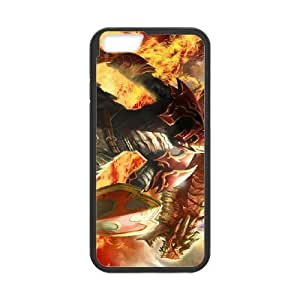 iPhone 6 4.7 Inch Cell Phone Case Black Defense Of The Ancients Dota 2 DRAGON KNIGHT Pwsdz