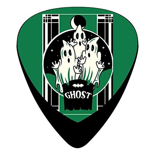 Green Halloween Ghost Guitar Picks Plectrums 12-Packs for sale  Delivered anywhere in USA