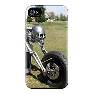 BRmUcwt6656UhLre Snap On Case Cover Skin For Iphone 4/4s(ghost Rider)