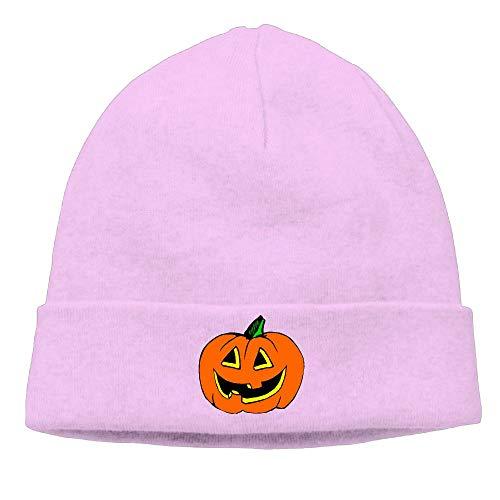 Unisex Halloween Pumpkin Clipart Soft Knit Caps