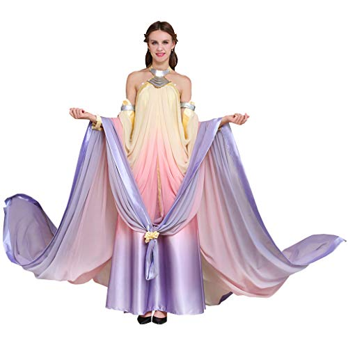 CosplayDiy Women's Dress for Queen Padme Amidala Cosplay S for $<!--$105.00-->