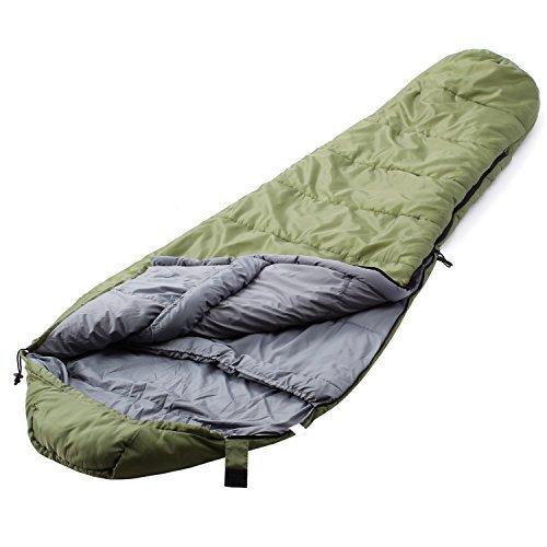 Camp Solutions +5 F Ultralight Mummy Sleeping Bag (91