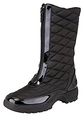 Amazon.com | totes Women's Donna Waterproof Mid Winter Snow Boot | Boots