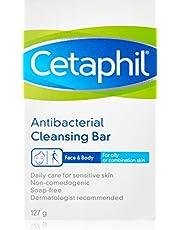 Cetaphil Antibacterial Cleansing Bar, 127g
