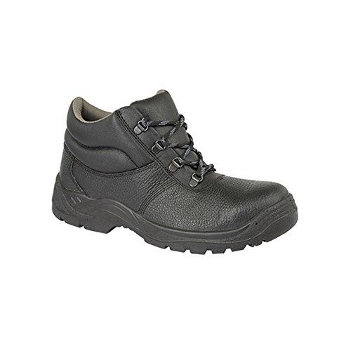 Grafters Chaussures de Sécurité pour Homme Rouge Noir Noir Y9K8J