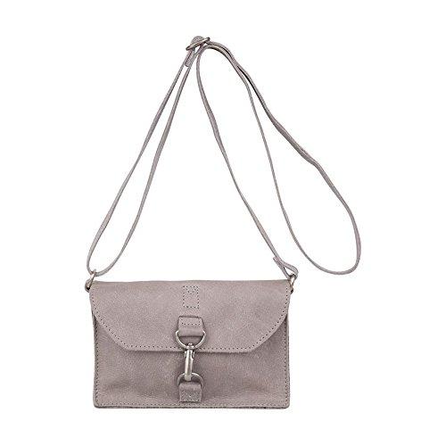 Bag Harlem 20 A Cowboysbag Cm Borsa Pelle Tracolla Grey UdOqxq