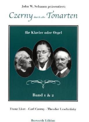 Czerny durch alle Tonarten -Für Klavier oder Orgel-: Lehrmaterial