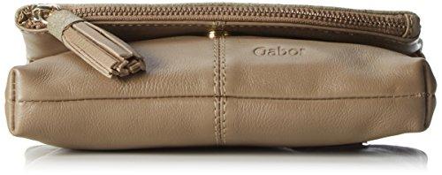 Gabor 7577, Bandolera Mujer, 2x15x20.2 cm (B x H x T) Marrón (Taupe)
