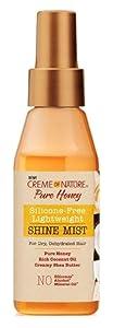 Creme Of Nature Pure Honey Shine Mist 4 Ounce (118ml)