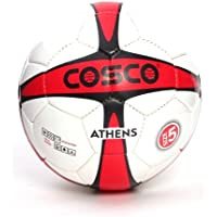 Cosco Athens Football, Size 5 (White/Red)
