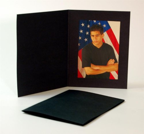 Cardboard Photo Folder For A 4x6 Photo White Stock Pack Of 100
