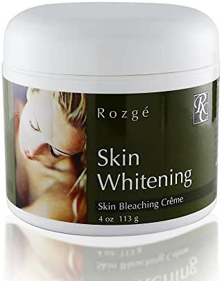Skin Whitening Cream with 2% Hydroquinone – Clinically Tested Skin Lightening Cream – Diminishes Appearance of Spots, Discolorations, and Scars – for Face and Body with Zero Side Effects