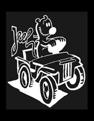 EUGENE JEEP JEEP in his cartoon JEEP Vinyl Sticker//Decal