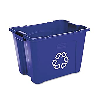 Amazon.com: Rubbermaid Commercial – Papelera de reciclaje de ...