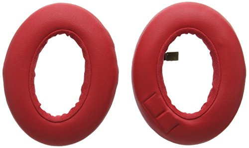 Price comparison product image Parrot Spare Ear Cushions for Zik 3 Headphone,  Red