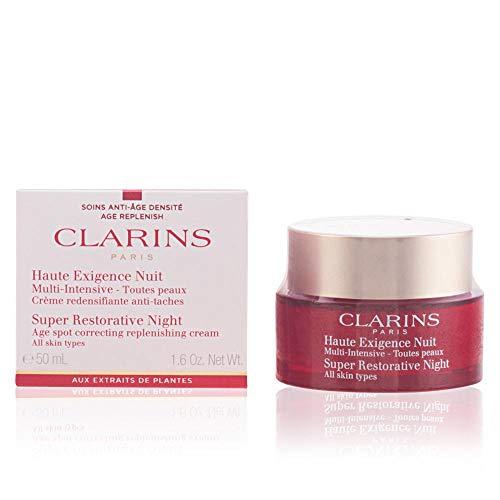 Super Restorative Night - All Skin Types by Clarins for Unisex - 1.6 oz Night ()