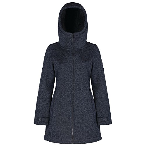Regatta strickfleece mantel damen