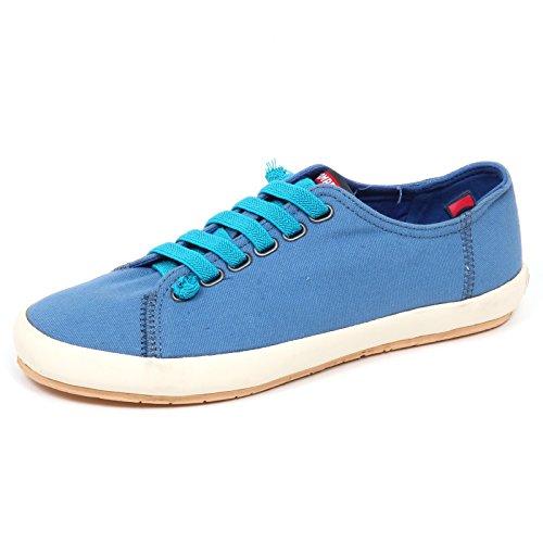 Azzurro in Camper tela Light senza Donna Scarpa scatola Scuro E6036 Donna Sneaker Blu Scarf xF6pS