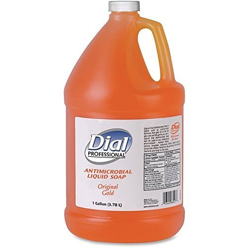 (Dial Antimicrobial Liquid Hand Soap Original Gold (Case of)