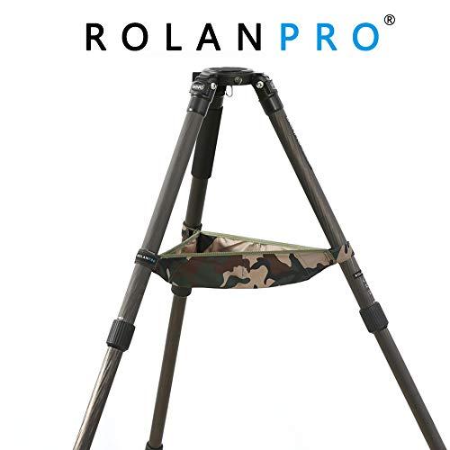ROLANPRO 三脚ストーンバッグケース Benro Manfrotto Gitzo Triopod Velbon LVG 多機能三脚バトラーストーンポーチバッグ B07MNWS1VK