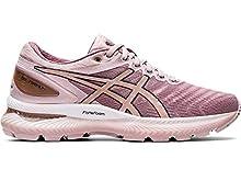 ASICS Women's Gel-Nimbus 22 Running Shoes, 7.5M, Watershed Rose/Rose Gold