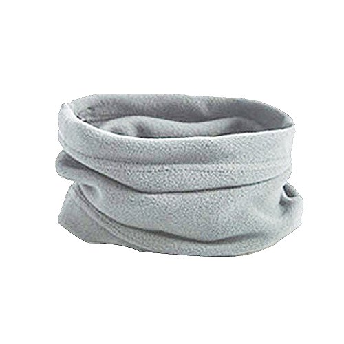 XILALU 3 In 1 Men Women Unisex Polar Fleece Hat Neck Warmer Face Mask Cap Winter Cozy Solid Bonnet Beanie ()