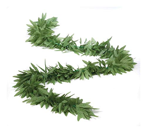 Green Leaf Long Boa