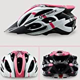 Dealzone Hot New Inbike Cycling BMX Bicycle Hero Bike Helmet with Visor Pink BM