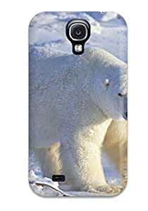 Defender Case With Nice Appearance (polarbears ) For Galaxy S4