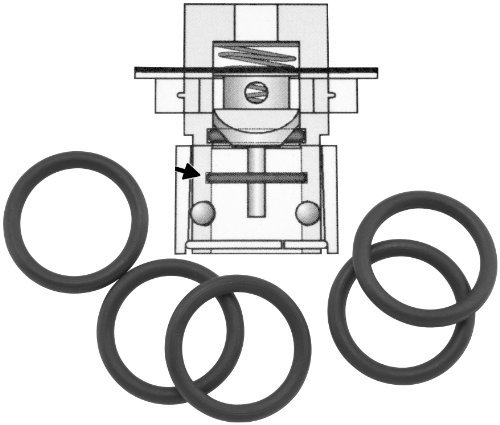 Fuel Tool EFI Check Valve Lower O-Ring - 5pk MC200-5