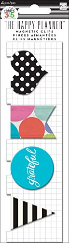 (me & my BIG ideas Magnetic Clips Grateful Planner)