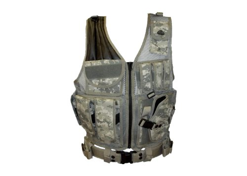 Digital Camo Airsoft Vest