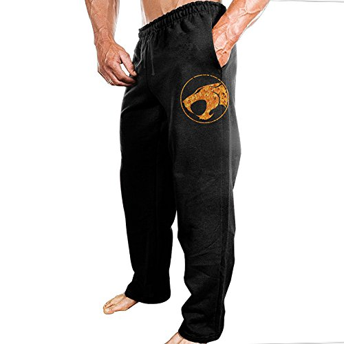 tongy-mens-thunder-cats-soft-cross-country-casual-style-sweatpants-leisure-wear-size-m-black