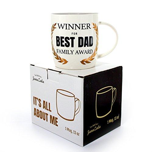 Janazala Best Dad Ever Mug,