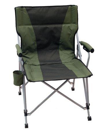 Amazon.com: Vertical Atrás Camp Silla Plegable Con Brazos ...