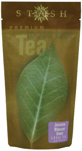 Stash Tea Jasmine Blossom Loose Leaf Tea, 3,5 once Pouch