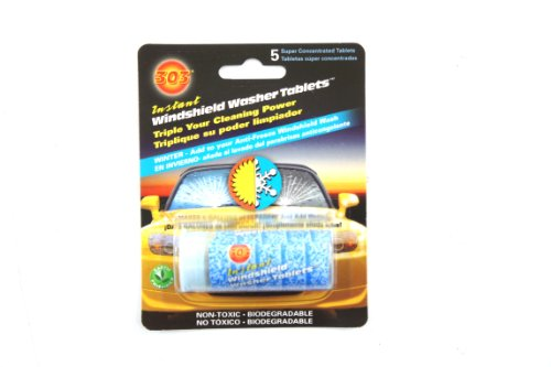 Genuine Kia Fluid UM090-CH039 Windshield Washer Tablet, (Pack of 5) by Kia