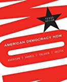 img - for American Democracy Now- Texas Edition by Brigid Harrison (2008-12-16) book / textbook / text book