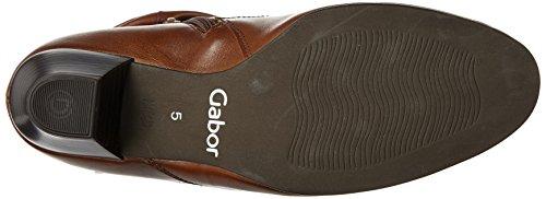 Gabor Comfort Basic, Stivali Donna Marrone (34 Nut Micro)