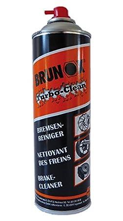 Limpiador freno Brunox turbo-clean 500 ml, Spray: Amazon.es: Deportes y aire libre