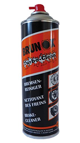 Limpiador freno Brunox turbo-clean 500 ml, Spray: Amazon.es: Deportes y aire libre