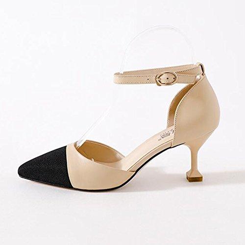 Nubuck Più Cjc Materail 2 colore Con Sandali Finto Il Casual Formato Disponibile 4pqxqEY