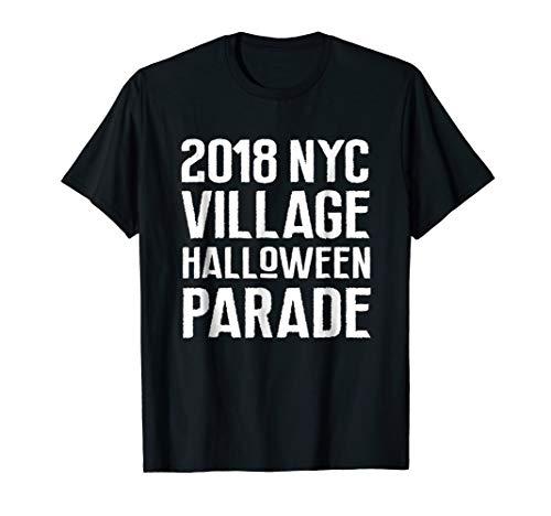 2018 NYC Village Halloween Parade Shirt New York City -